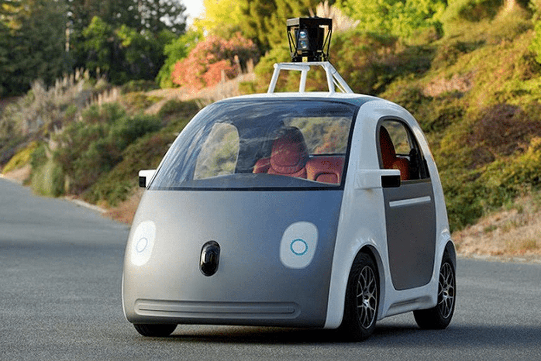 Google made its own self-driving car.