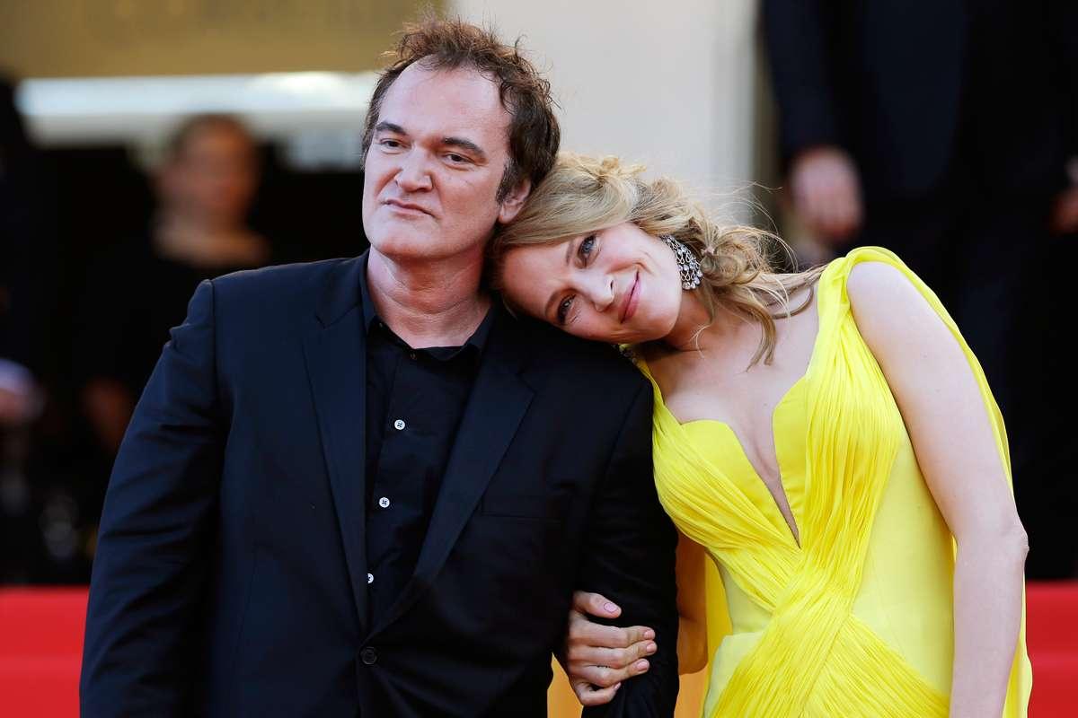 Quentin Tarantino and Uma Thurman dating