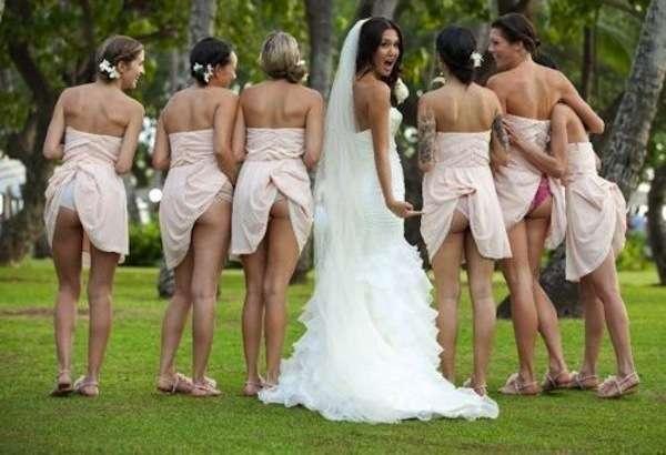 голые свадебные платья фото