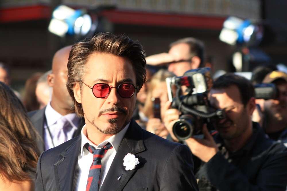 Robert Downey Jr. and the Iron Man