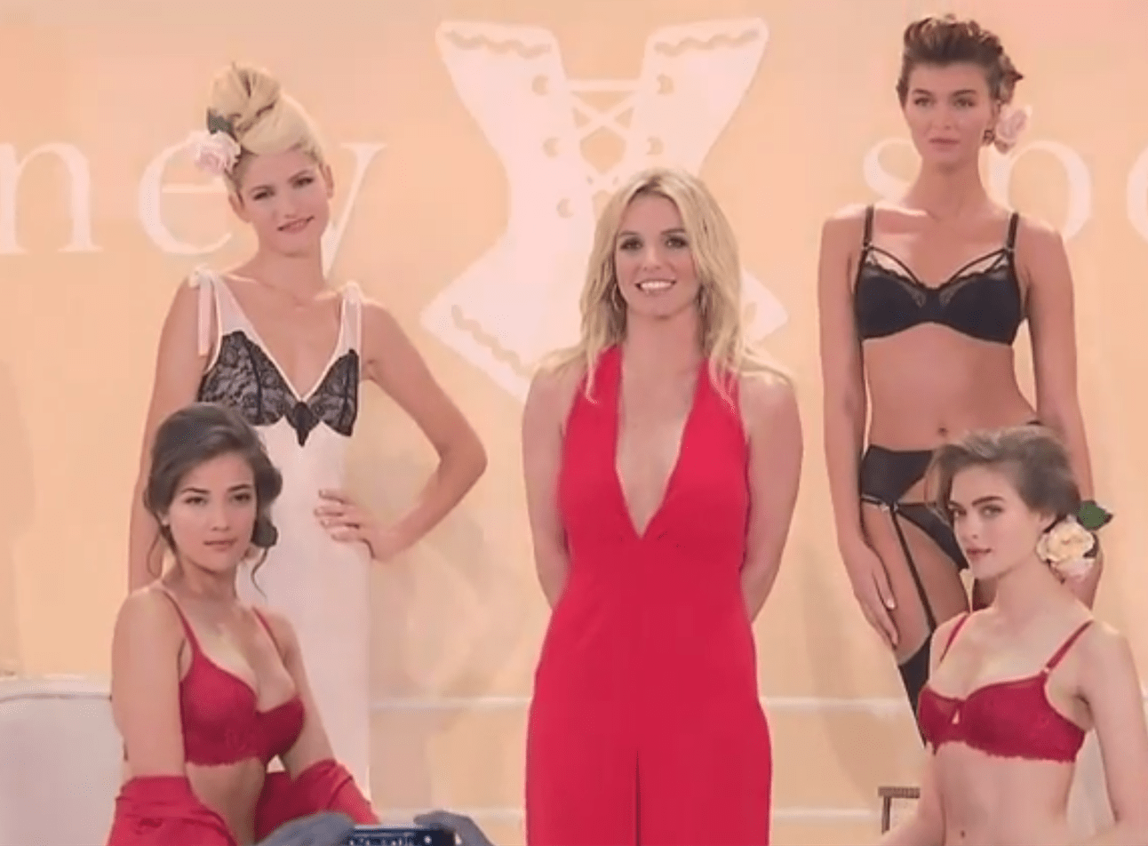 Britney Spears Debuts Her Sexy New Lingerie line
