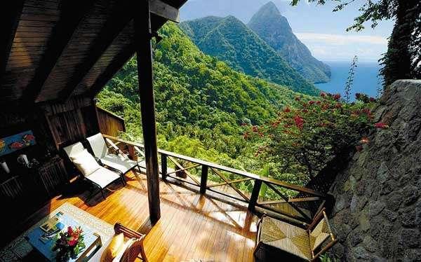 Ladera Resort, St. Luciare