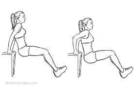 chair tricep dips