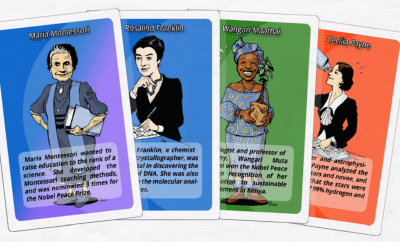 Learn about The Women In Science Via A Game