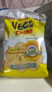 a pack of vege chips