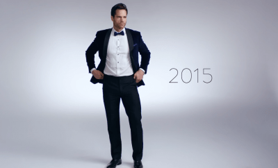 Mode presents 100 years Of Men's New Year's Eve Fashion