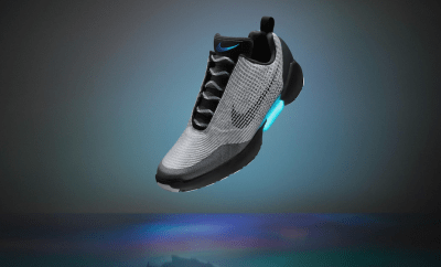 Nike Steps Into The Future With Their Self-Lacing Shoes