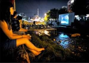 Riverbad Cinema For Dokufest In Prizren, Kosovo
