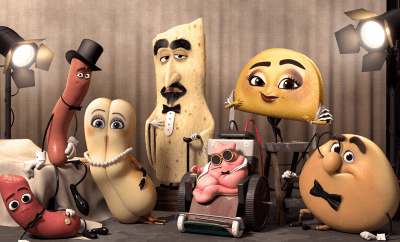 "Hilarious Thought Provoking X-Rated Cartoon ""Sausage Party"""