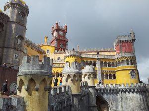 Portugal,Sintra Palace pen
