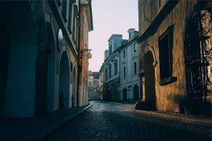 Portugals Cobble streets