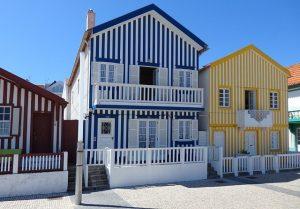 portugal, Costa Nova beach houses