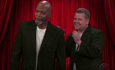 Samuel L. Jackson and James Corden Hilarious Sketch