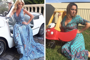 Comedian Celeste Barbar recreating celebrity Instagram