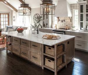 modern, rustic kitchen decor