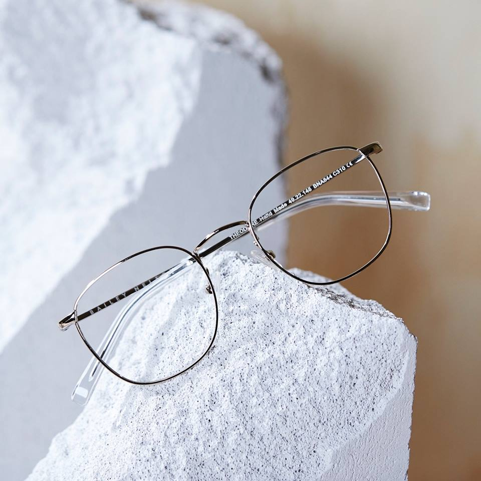 light, iron framed reading glasses