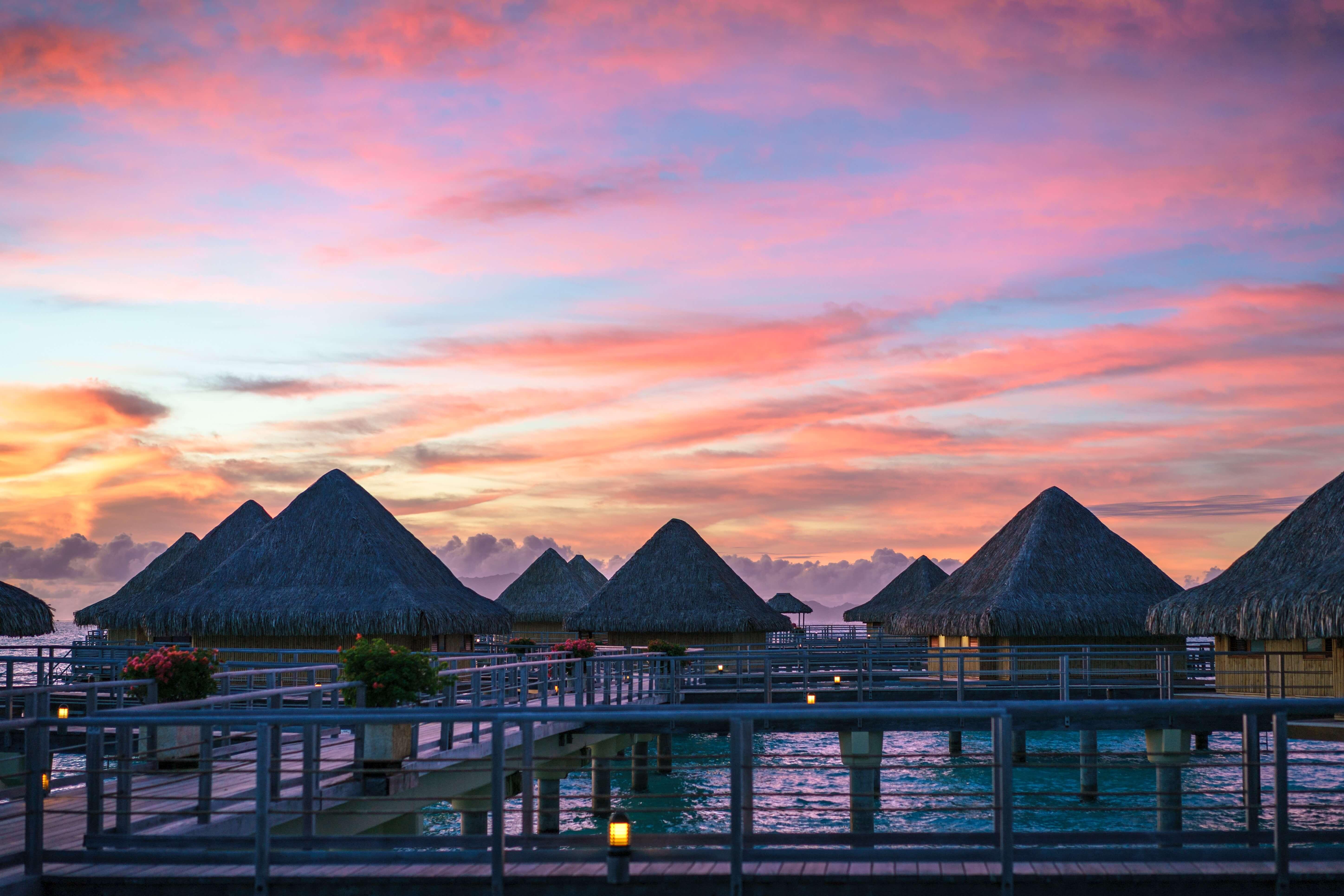 8 Sun Destinations to Live It Up This Winter - Bora Bora