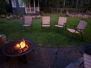 Affordable Backyard Landscaping Ideas- Add a fire pit