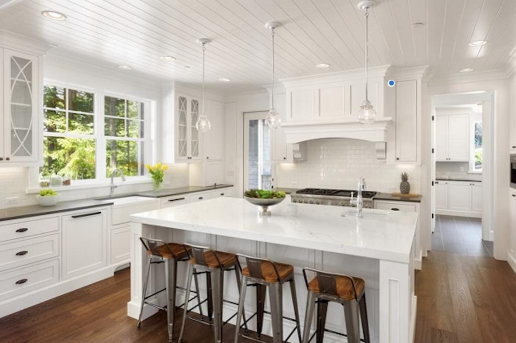Kitchen Trends 2018 - Ideas & Inspiration-White modern kitchen