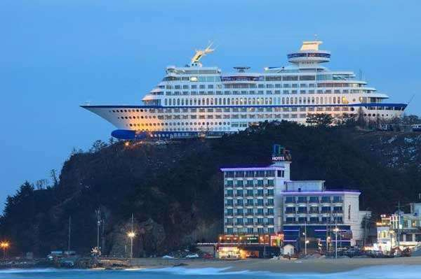 Sun Cruise Hotel, South Korea