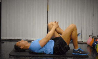 The exercise move that works your butt, abs and hips1.