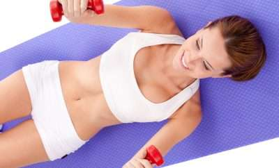 Get rid of jiggly arms with 6 easy exercises.