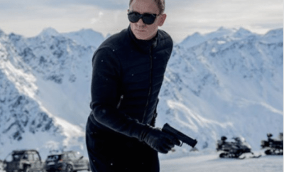 "First footage of new James Bond ""Spectre"""