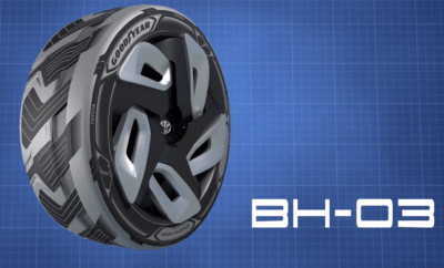 Goodyear's Concept Tires Can Help Power Electric Cars