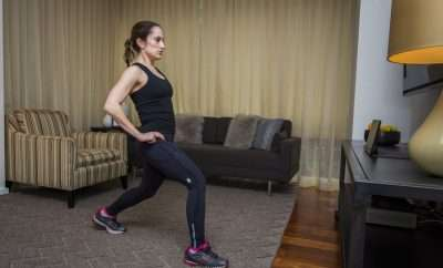 How to use hotel room items to get a great workout on the road