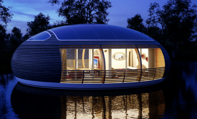 The House That Looks Like A Spaceship.
