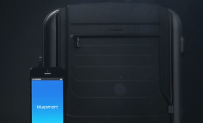 World's First Connected Suitcase
