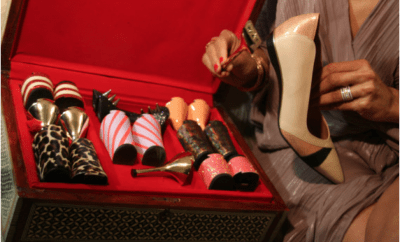 Tanya Heath introduces Interchangeable Heels – Pure Genius 1