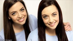 Strangers who look like twins