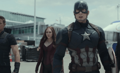 First Official Trailer For Captain America Civil War