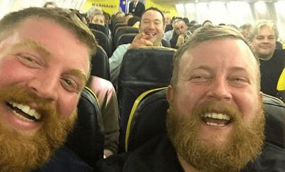 Man Finds His Doppelganger On Same Flight