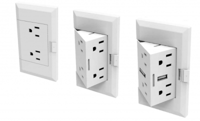Smart Pop-Out Power Outlet