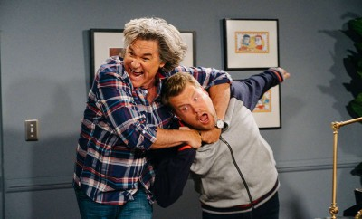 Watch Kurt Russell Repeatedly Beat Up James Cordon In Funny Sketch