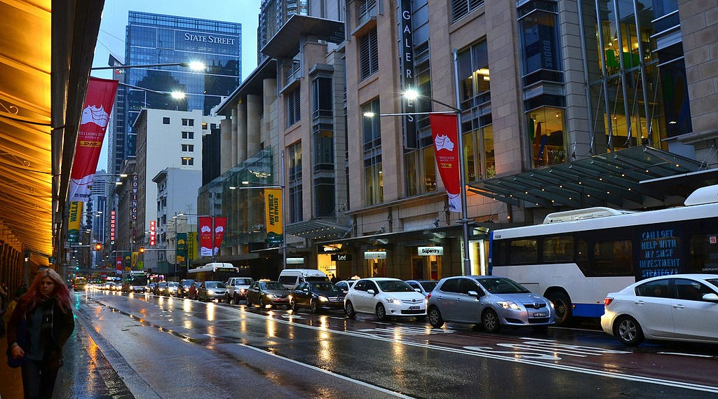 George St. Congestion