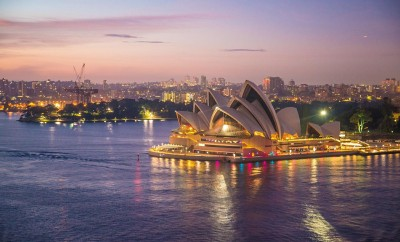 Overview of Sydney withOpera house
