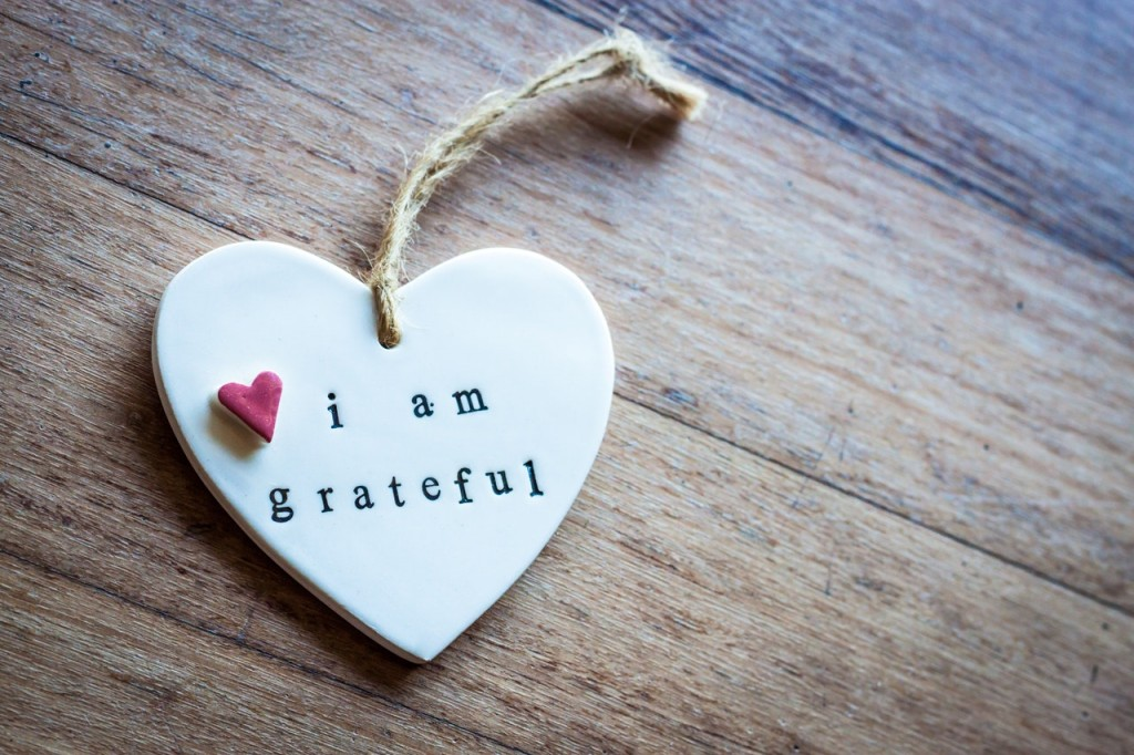keyring with I love grateful
