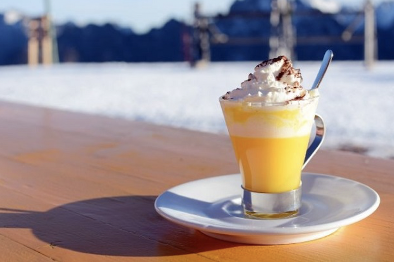 Drinking while Travelling: 5 Festive Drinks from around the Globe- A creamy yellow drink