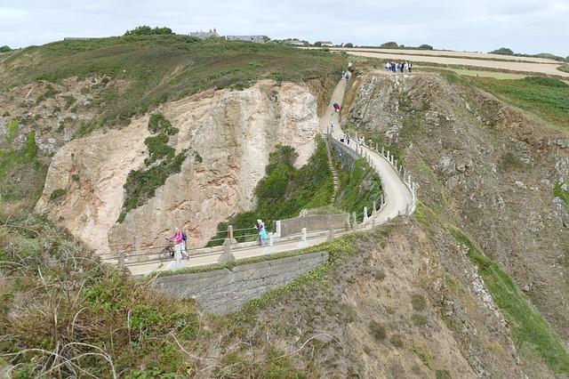Jersey - UK, the hiking path