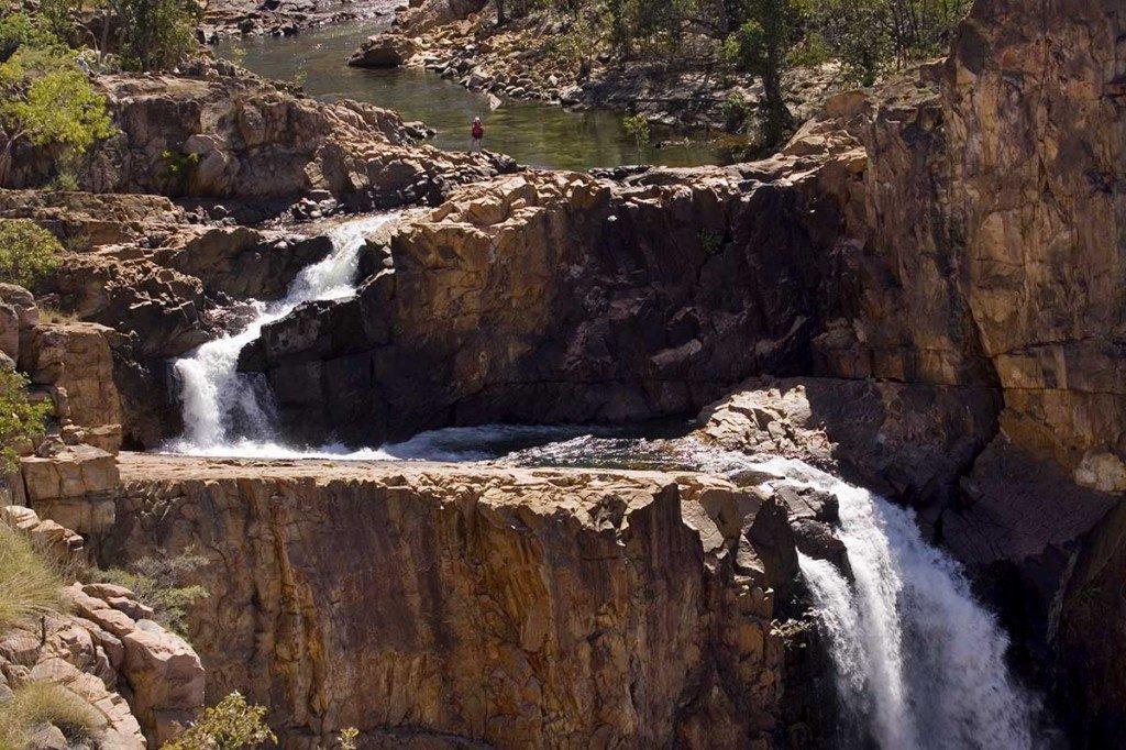 The Jatbula Trail - the waterfall Australia