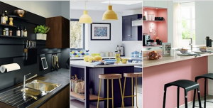 three styles of kitchen trends