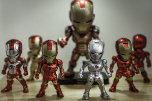 Ultimate Superhero Bedroom Ideas for Your Twins- Iron Man, action figures, toys