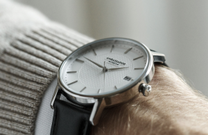 men's wrist with a watch on
