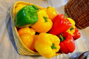 bell pepper in all colours