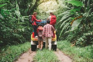 Father's Day Celebration Ideas- dad, family riding