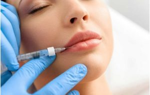 Needle to pump lip fillers