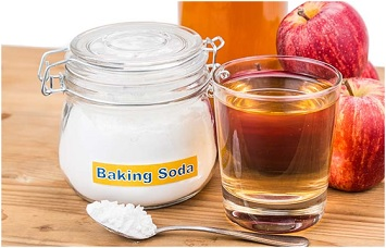 soda, Oil Pulling and apple